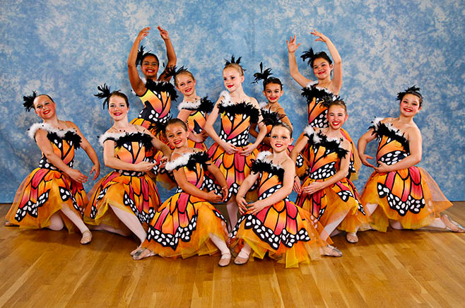 Dance school performance