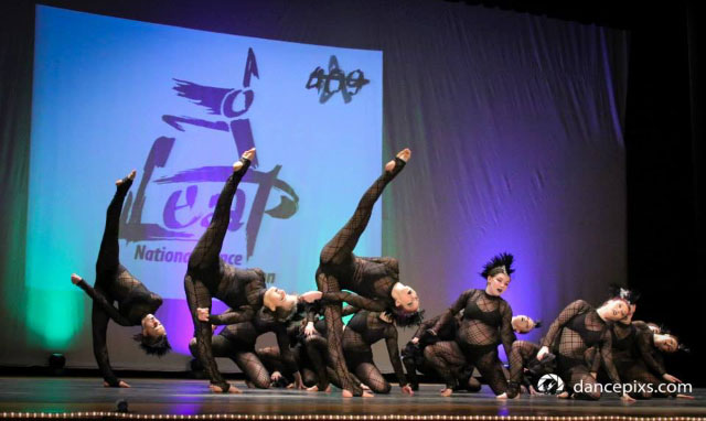 Don't Drink The Kool-Aid won Top Choreography Award and Overall Senior Large Group. Leap Competition in Lowell, MA
