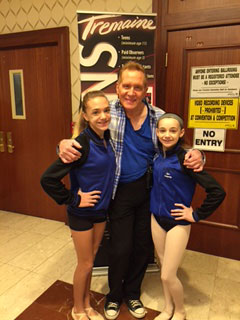Joe Tremaine and Sally Gould Dancers at Tremaine Convention