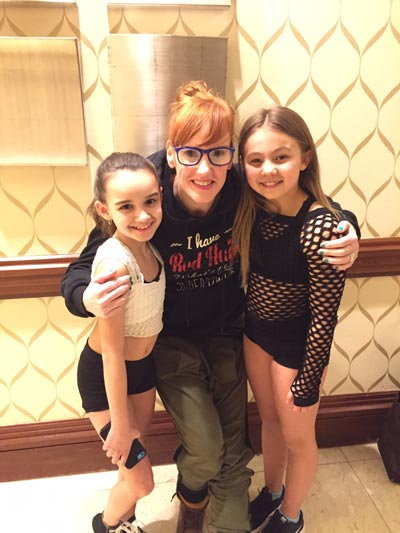 Debbi Gould with Sally Gould Dancers at Tremaine Convention in Boston
