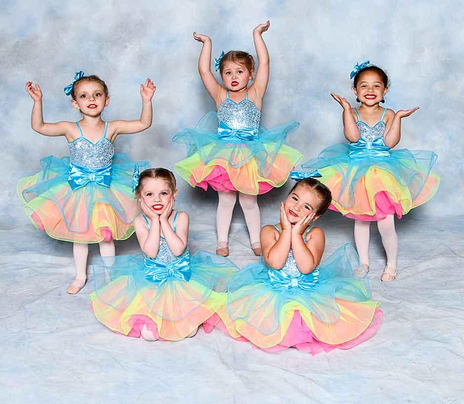 Precious preschool dancers