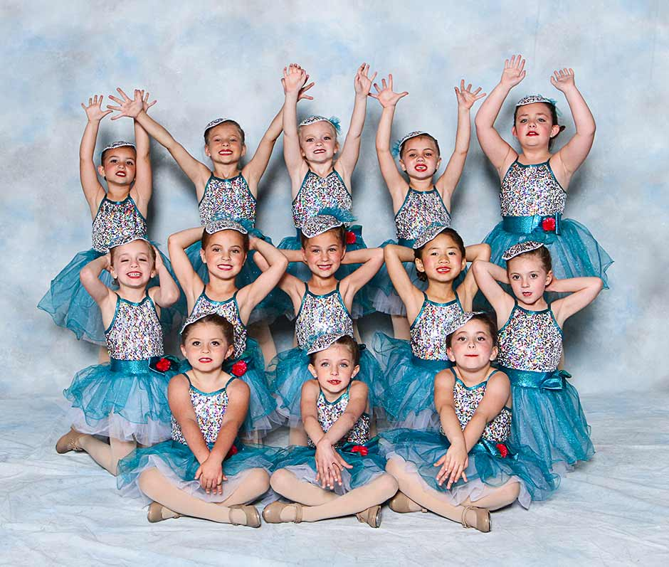 Check out our young children's class, look how cute these young dancers are!! These smiling faces love Tap and Ballet!!!