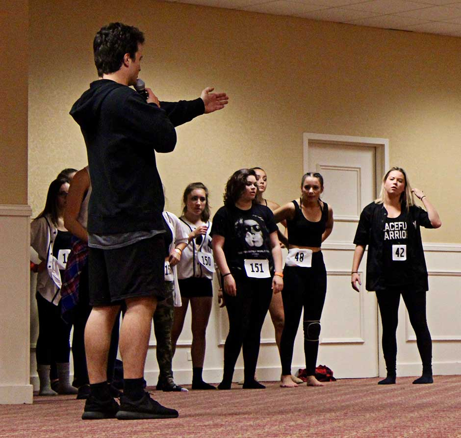 Sally Gould dancers attended the D-Style workshop